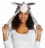 Kostüm Zubehör Plüschmütze Esel Karneval Fasching Party
