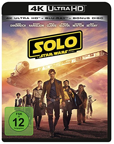 Solo: A Star Wars Story 4K Ultra HD [Blu-ray] -