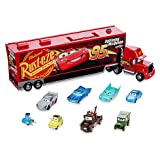 Disney Pixar Cars 3 - Die Cast Transporter-Set Mack, Offizielles Disney