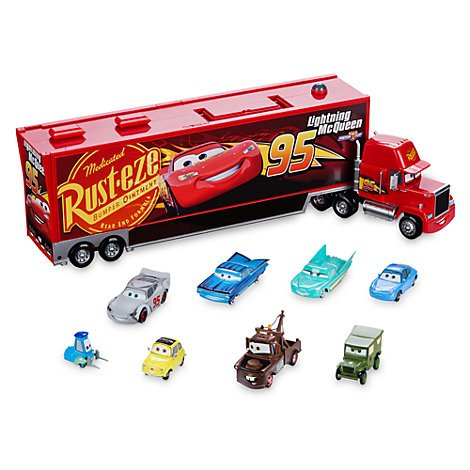 Camion de transport miniature Mack, Disney Pixar Cars 3, Disney officiel,
