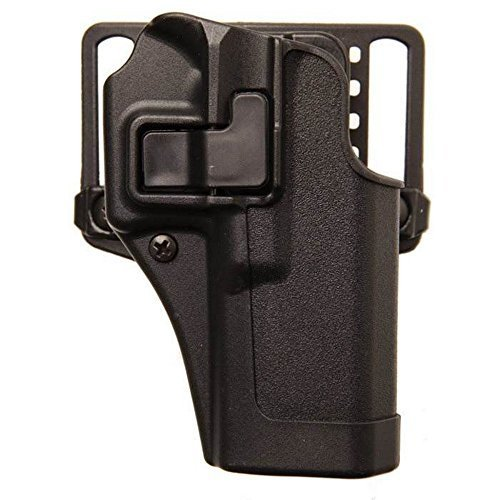 Land-schwarzes Finish (Blackhawk. SERPA Concealment Matte Finish, Unisex - Erwachsene, Schwarz, 13 - Glock 20/21/37)
