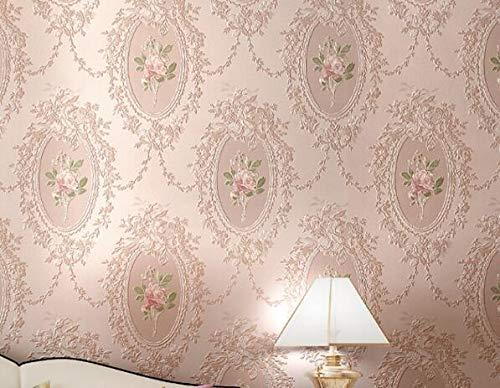 KYKDY Papier Peint Pays Papel Parede 3d Papier Peint Chambre Papier Peint Rouleau Miroir Moderne Fleur Papier Peint Papier Peint Vintage Hudas Beauty, 2