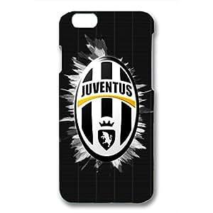 Juventus Logo Phone Case for Iphone 6 3D Black Slip On Cover
