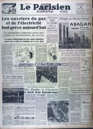PARISIEN LIBERE EDITION DE PARIS (LE) [No 838] du 28/05/1947