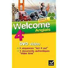 Welcome Anglais 4e éd. 2013 - DVD vidéo by Evelyne Ledru-Germain (2013-09-09)