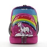 Franky Kinderrucksack mit Bodenfach KRS2 Backpack Einhorn