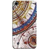 Printfidaa Fabric Pattern Print Designer Back Cover for LG X Power, K220DS K220