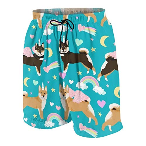 Pillow Socks Shiba Inu Dog Unicorn Boys Beach Shorts Quick Dry Beach Swim Trunks Kids Swimsuit Beach Shorts,Athletic Performance Basketball Shorts XXL (Orange Shorts Jordan)