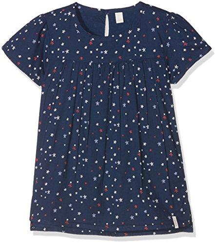 ESPRIT KIDS Mädchen RL1203302 Bluse, Blau (Twilight Blue 472), 116 (Herstellergröße: 116/122)