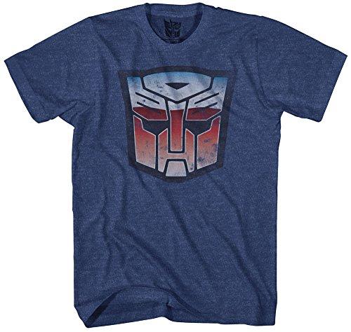 kurzärmliges T-Shirt - Blau - Groß ()