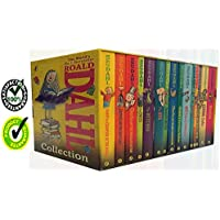 Roald Dahl 15 Book Box Set (Slipcase) Includes Matilda, Witches, The Twits, Fantastic Mr Fox, Charlie & the Chocolate Factory, Georges Marvellous Medicine, The BFG, Danny the Champion of the World....