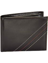 Ox Mens Bi-Fold Genuine Imported Leather Wallet-Mens Wallet