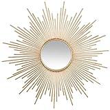 Atmosphera - Miroir Soleil Tube doré D99...