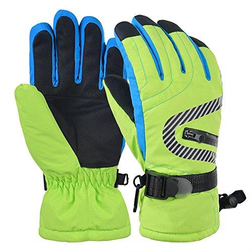 Vbiger Kinder Skifahren Handschuhe Skihandschuhe KinderSchnee Handschuhe Outdoor Handschuhe Sport Handschuhe Winter Handschuhe für Kinder mit kleiner Tasche für Münze