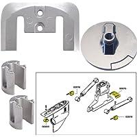 Tecnoseal ánodo Kit w/Hardware–Mercury Bravo 2–3–aluminio - 20804AL