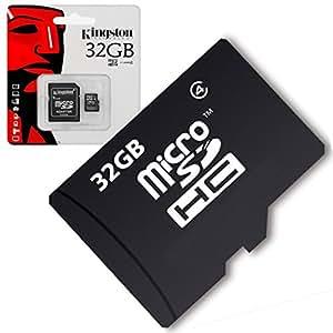 Acce2S - CARTE MEMOIRE 32 GO pour WIKO DARKNIGHT MICRO SD HC + ADAPT SD integral