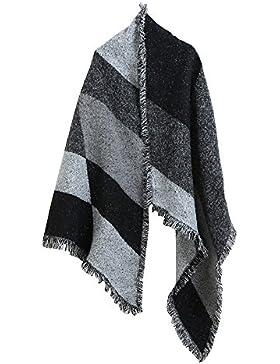 ASHOP Invierno Bufanda, Bufanda de borla bufanda de las bufandas de las mujeres