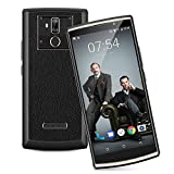 Oukitel K7【Super 10000mAh/SONY 13MP Kamera/6.0''18:9 FHD+Display】2018 4G Smartphone ohne Vertrag, Android 8.1, 4GB/64GB, MTK6750T Octa-Core, Quick Charging, OTG OTA Dual SIM Dual Standby (Schwarz)