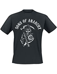 Sons Of Anarchy Reaper Logo T-shirt noir