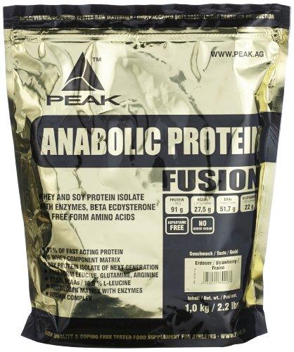 #Peak Anabolic Protein Fusion, Erdbeer, 1000 g#