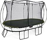 Springfree Trampolin O92 - Large Oval 240 cm x 400 cm reine Sprungfläche (entspricht 300 cm x 460 cm) inkl. Netz