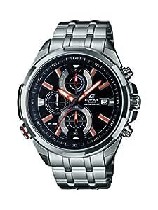 Casio Edifice Chronograph Black Dial Men's Watch - EFR-536D-1A4VDF