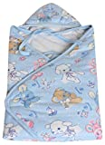 Nursery Print Poly filled hooded wrapper...