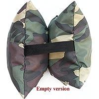 Grippa Bean bag, vacío, resistente al agua Material, tamaño aprox. 22Cmx22Cm, Wildlife fotografía Bean Bag para cámaras