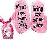 Pinke Luxus Wein Socken