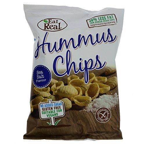 Eat Real   Humus Sea Salt Chips   4 x 135g