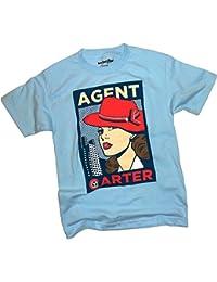 Marvel -- Agent Carter -- Poster Image Adult T-Shirt