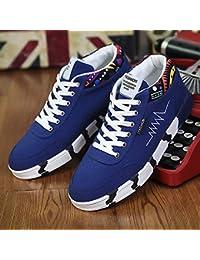 low priced a34f0 bc52f AIMENGA Zapatos para Hombre Zapatos De Lona para Hombre Otoño E Invierno  Zapatos De Lona para