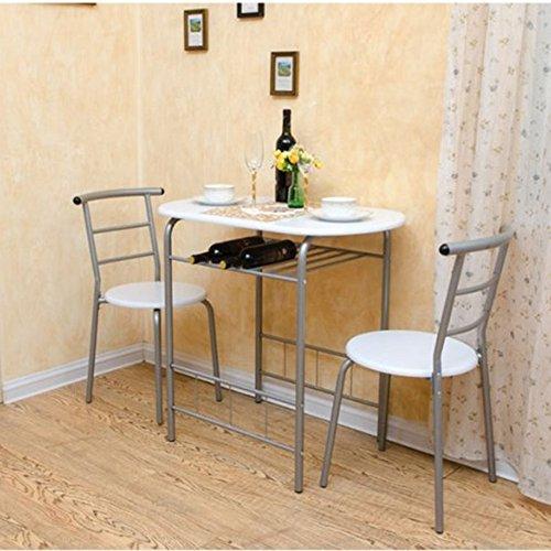 LiuJianQin Klapptisch ZXQZ Klapptische und Stühle Paar Esstisch und Stuhl 1 Tisch und 2 Stühle 2...