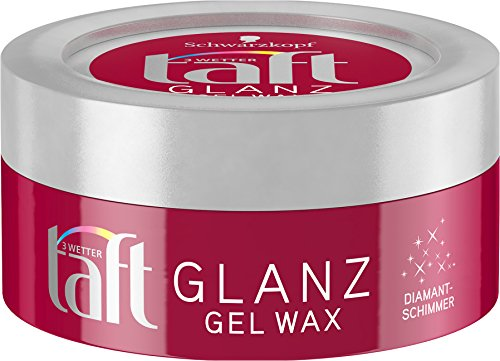 3 Wetter Taft Gel/Wax Glanz, 5er Pack (5 x 75 ml)
