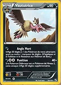 carte Pokémon 73/114 Vaututrice 90 PV Série Noir Blanc NEUF FR
