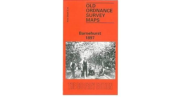 europe map OLD ORDNANCE SURVEY MAP BARNEHURST 1897 NORTHUMBERLAND HEATH DARTFORD CREEK