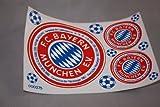 FC Bayern München Aufkleberbogen 80er Jahre Bundesliga