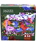 Jaques of London DINOSAUR ADVENTURE jigsaw puzzle for kids - 50 piece Jigsaw puzzle for children - recommended puzzle for 3 4 5 6 year olds