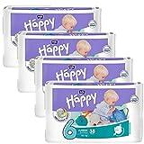 Bella Baby Happy Windeln Größe 6 Junior Extra 16+ kg Big Pack, 4er Pack (4 x 54 Windeln) - 3