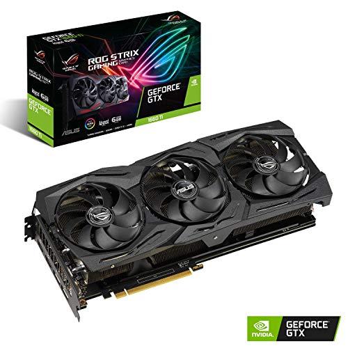 Foto ASUS ROG -STRIX-GTX1660TI-A6G-GAMING GeForce GTX 1660 Ti 6 GB GDDR6