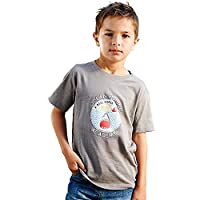 Regatta Great Outdoors Boys Zorb Short Sleeved T-Shirt (5-6 Years) (Grey Marl)