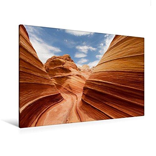 Calvendo Premium Textil-Leinwand 120 cm x 80 cm Quer, Ein Motiv aus Dem Kalender USA Landschaftskalender   Wandbild, Bild auf Keilrahmen, Fertigbild auf Echter Leinwand, Leinwanddruck Orte Orte