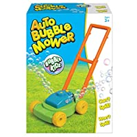 Kids Auto Bubble Lawn Mower Bubbles Machine Blower Garden Party Toddler Toy