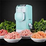 LinZX Utensile da Cucina Mulino macinatore Robot Domestico qualità tritacarne smerigliatrice vegetale Multifunzione Manuale a Base di Carne,Meat Grinder