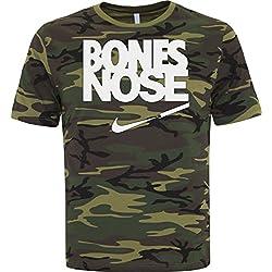 BSW - Camiseta - Hombre Multicolor Camuflaje Medium
