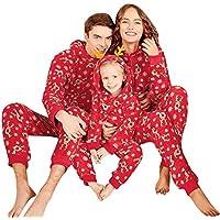 Hanomes Damen pullover, Frauen Rentier Hood Strampler Overall Familie Pyjamas Nachtwäsche Weihnachten Outfit preisvergleich bei billige-tabletten.eu