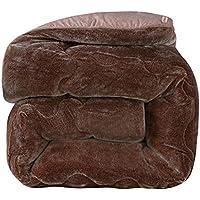 JIJIHAO beizi Winter Feder SAMT Quilt ist Kern Studentenwohnheim Single Double Space Quilt dicken Winter warmen Winter (größe : 200 * 230cm(4kg))