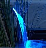 Ubbink Niagara Wasserfall LED - BLAUE Leuchteinheit 2014 (90 cm breite)