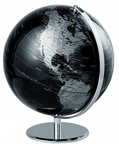 Mascagni –Globo terráqueo diámetro 30 cm. color negro, no pris en carga