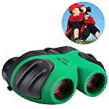 Toys for 3-12 Year Old Boys, WIKI Compact Binoculars for Kids Hunting Bird Watching Toys for 3-12 Year Old Girls Gifts for Teen Boys Girls Gifts for 3-12 Year Old Girls Gifts for 3-12 Year Old Boys Toys for Kids Green WKWYJ01